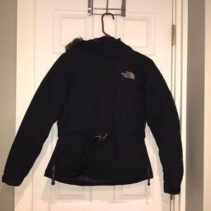 Northface belted jacket